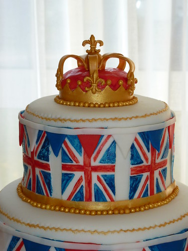 Union Jack Birthday Cake for a British themed party | by Strawberry Lane Cake Company