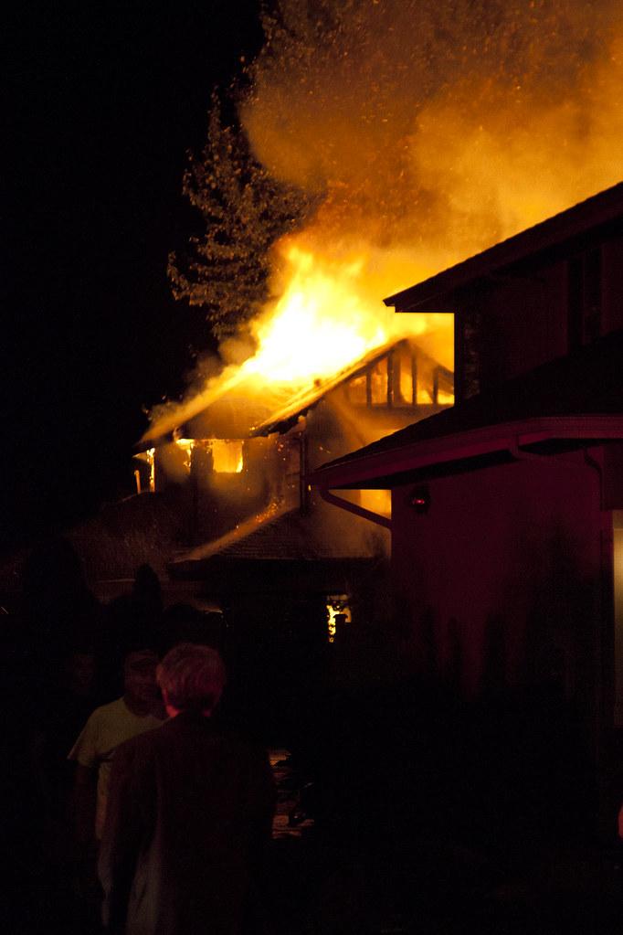 Bellevue House Fire