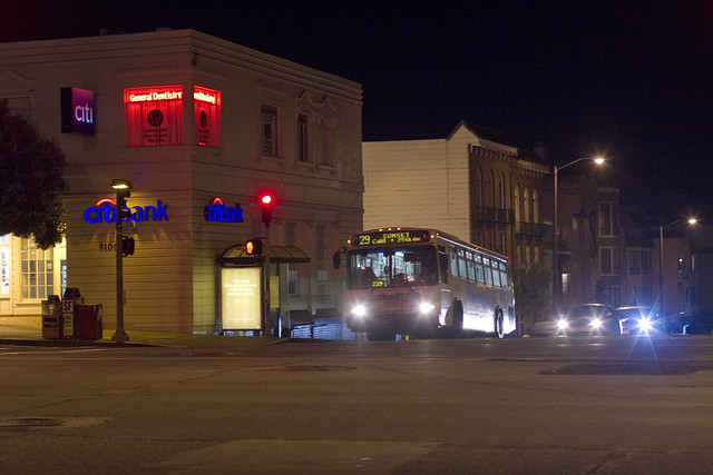 Geary St.  The Richmond, San Francisco (2011)