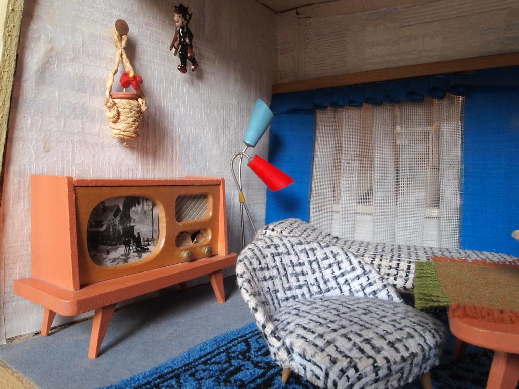Wohnzimmer Im 1960er Moritz Gottschalk Bungalow Paul H Flickr