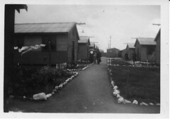 The WAAAFS living quarters at the Mallala RAAF Training base in 1943