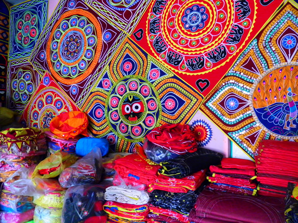 PIPILI APPLIQUE WORK | The small town of Pipli,halfway betwe… | Flickr
