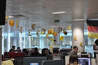 Call centre decorated for Lebara Money Golden Day | by Lebara Mobile