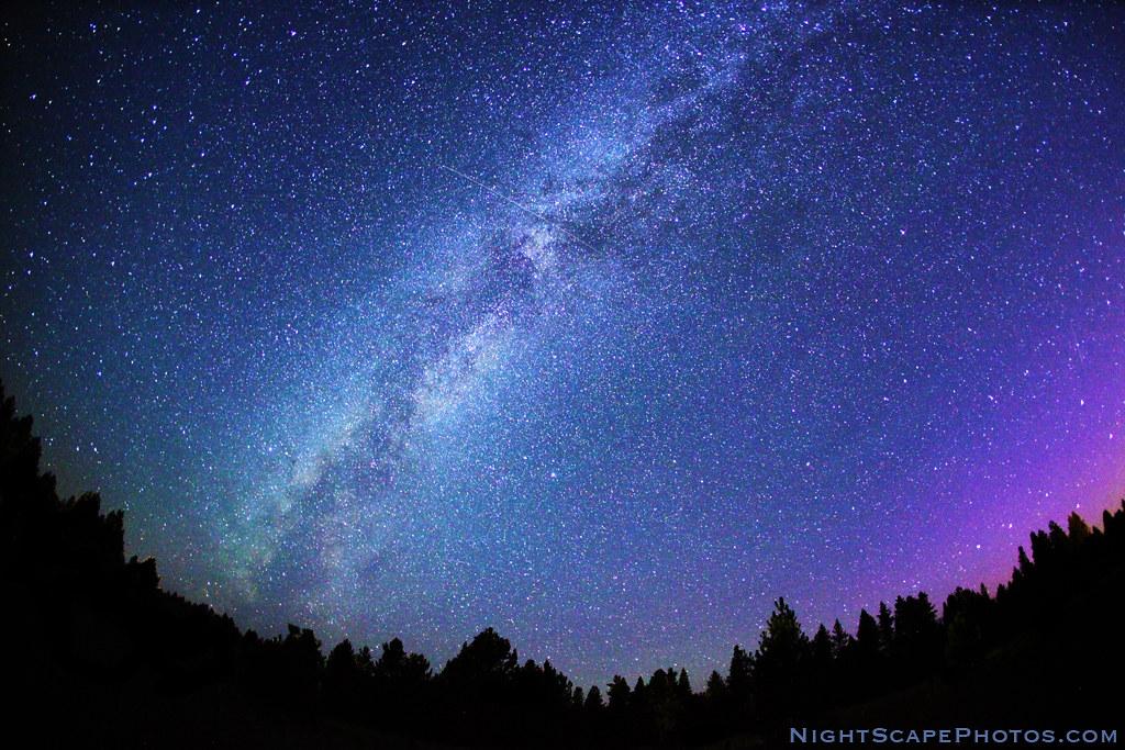 Stars in the Milky Way, 1 of 2 | Starry night sky - stars in… | Flickr