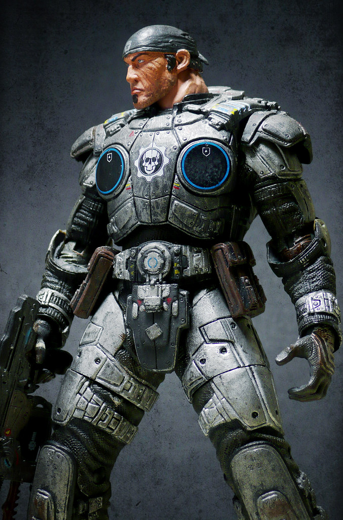Marcus Fenix Custom Neca Gears Of War Series 1 Neca Gow