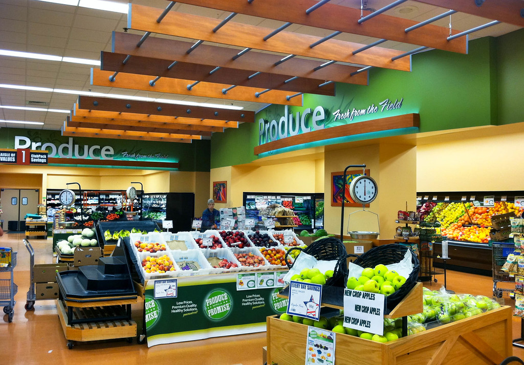 Interior Grocery Store Design | Supermarket Decor Design ...