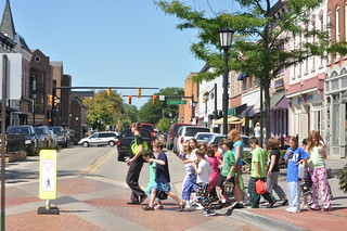 Pedestrian Safety Top Priority in Downtown Northville Photo by Michigan Municipal League