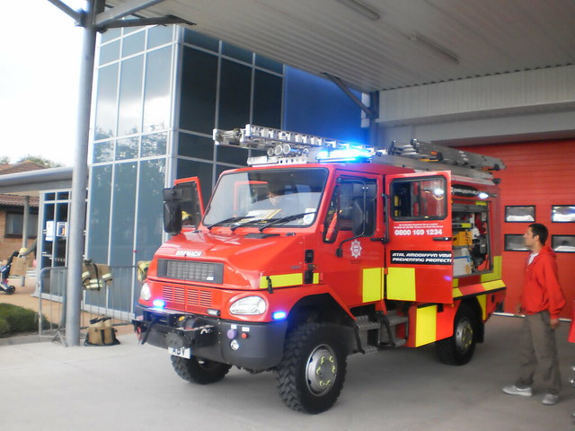 North Wales Fire and Rescue Bremach/Angloco 4x4  AU10 ABV