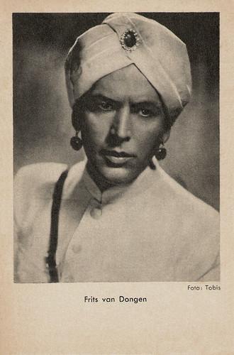 Frits van Dongen in Der Tiger von Eschnapur (1938)