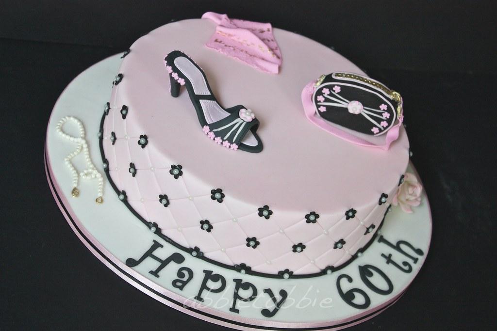 By Abbietabbie 60th Birthday Cake
