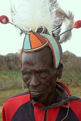 uganda - tribes and culture | Tepeth villager. Karamoja