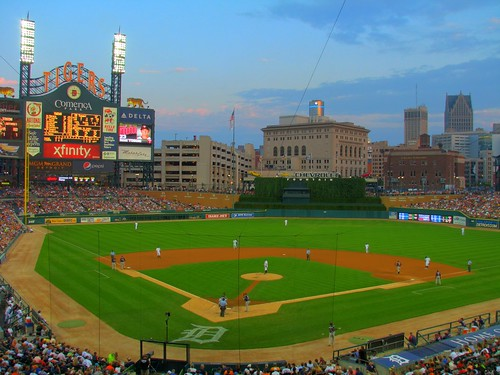 Comerica Park at Dusk | by Dave Hogg