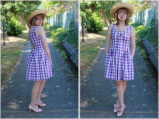 Sweet Gingham Duo, with Pockets! | by Malarkey Magoo