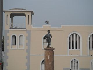 La Guajira - estatua y catedral