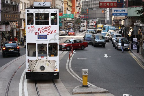 Hong Kong tram #46 in Wan Chai | by Marcus Wong from Geelong