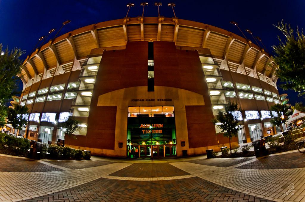 Jordan-Hare Stadium in Auburn Alabama | Jordan-Hare Stadium