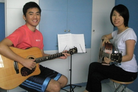 Guitar lessons Singapore Che Lei