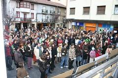 En la Plaza Cardenal Orbe la multitud concentrada