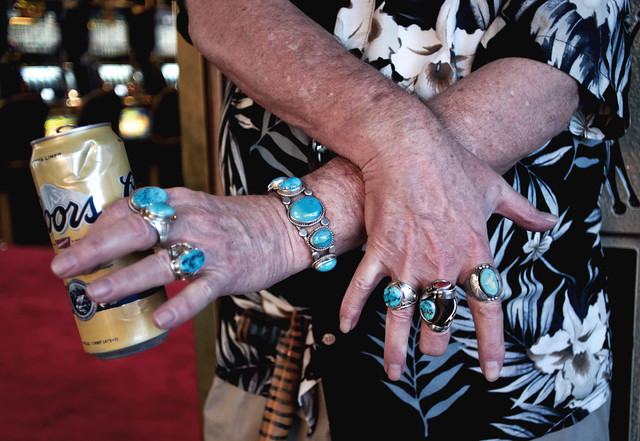 Turquoise Rings With Coors Can