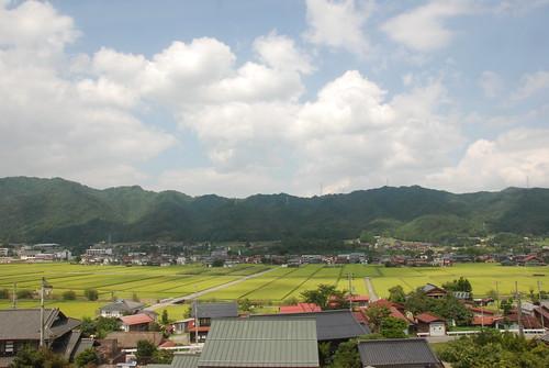 japan view ricepaddies takayama gifu 高山市 岐阜県
