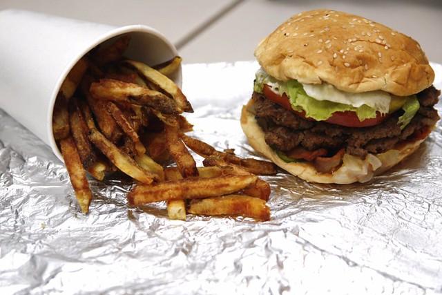 Day 11/365: 5 Guys - Burgers & Fries