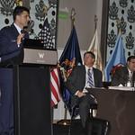Thu, 07/21/2011 - 14:49 - Panel de Investigación: Las Reformas y los Requisitos para las Fuerzas Armadas de América Latina en Un Nuevo Entorno de Seguridad. VII Conferencia Sub-Regional, Santiago de Chile, 2011. De izquierda a derecha: Juan Carlos Gómez (Colombia), Patrick Paterson (EE.UU., CHDS), Fernando Ruiz Torrico (Bolivia)