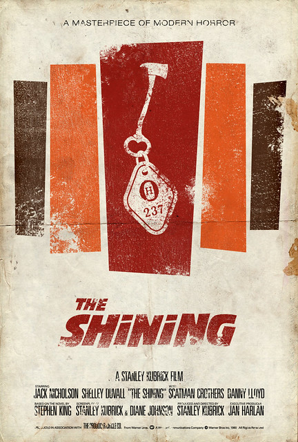 """Vintage Movie Poster:  """"The Shining"""""""