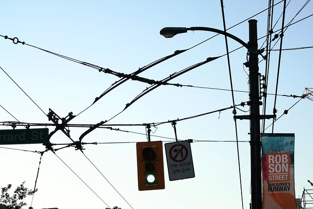 Wires on Robson Street