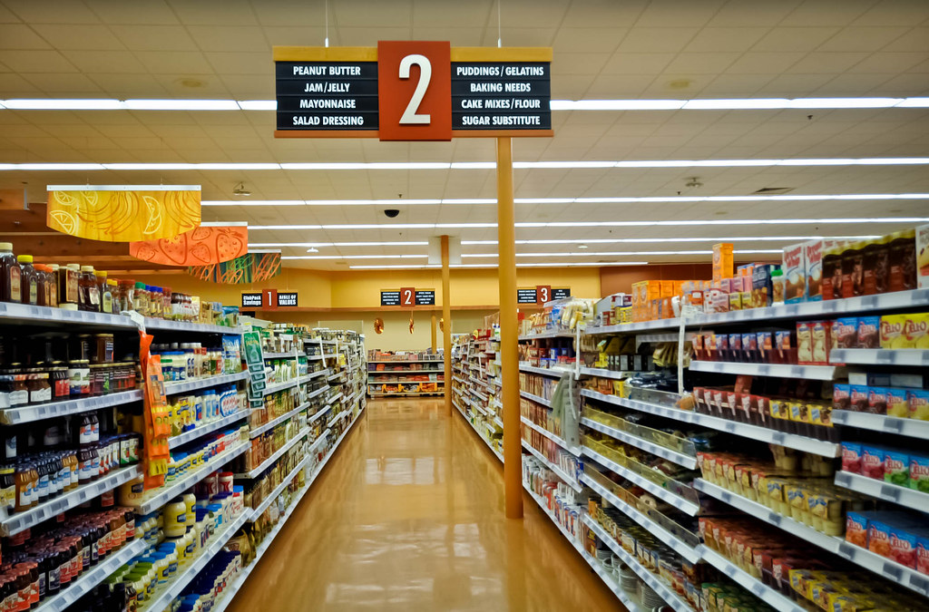 Grocery Store Design | Interior Decor Design | Aisle Signage | Market Decor Upgrade