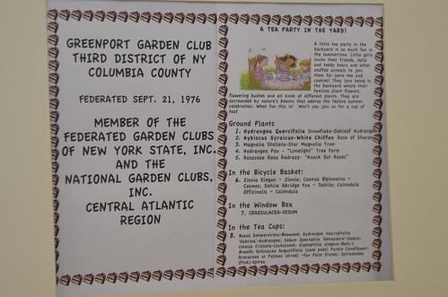 Greenport Garden Club Exhibit, Columbia County Fair, Chatham, NY   by Flatbush Gardener