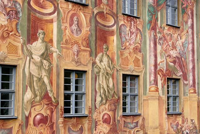 Detail Bamberg Rathaus