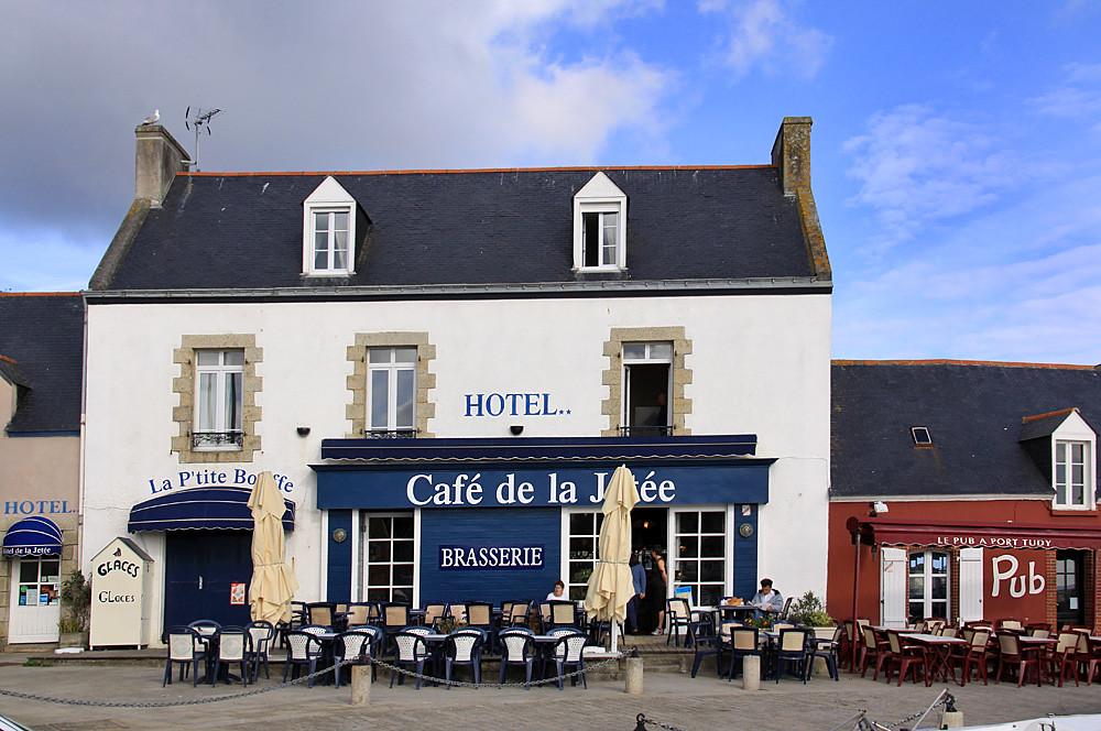 île De Groix Hotel De La Jetée Hotel Café De La Jetée Po