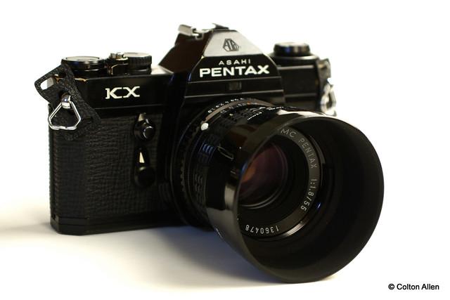 Pentax KX and SMC Pentax 55/1.8