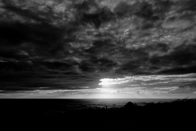 B&W @ the end of the day