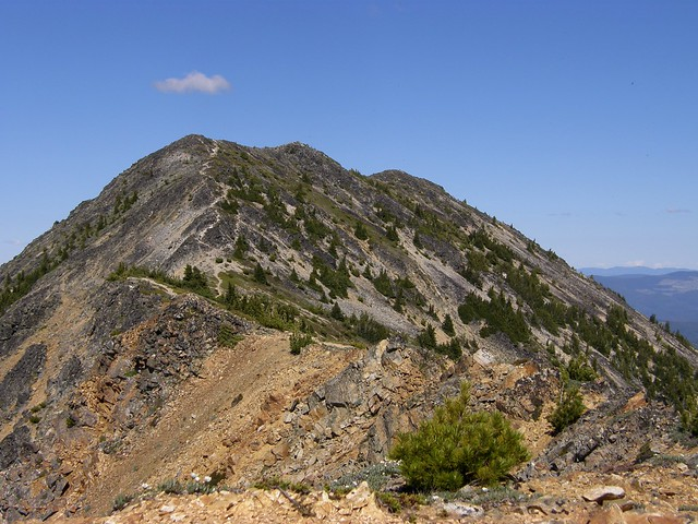 Three Brothers Mountain Near Trail's End