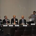 Wed, 07/20/2011 - 10:52 - Panel Temático: Coordinación Interinstitucional en Seguridad y Defensa.  Ponentes de izquierda a derecha: Stephen Meyer (EE.UU.), Rick Taylor (EE.UU.), Thomaz Costa (EE.UU.), Julio Hang (Argentina), Boris Saavedra (EE.UU., CHDS)