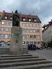 Norimberk, náměstí a socha Albrechta Dürera , foto: Petr Nejedlý