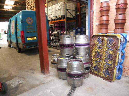 Purple Moose Casks and Van