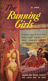 Beacon Books B406 - Al James - The Running Girls