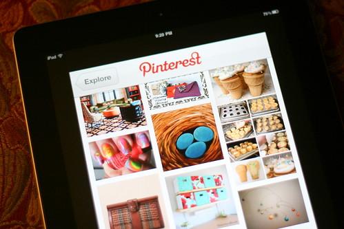 Pinterest + iPad=Love