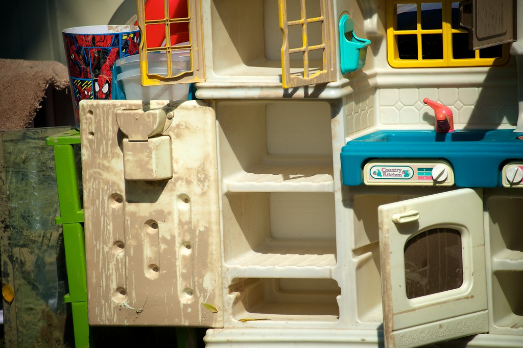 Somebody's toy kitchen