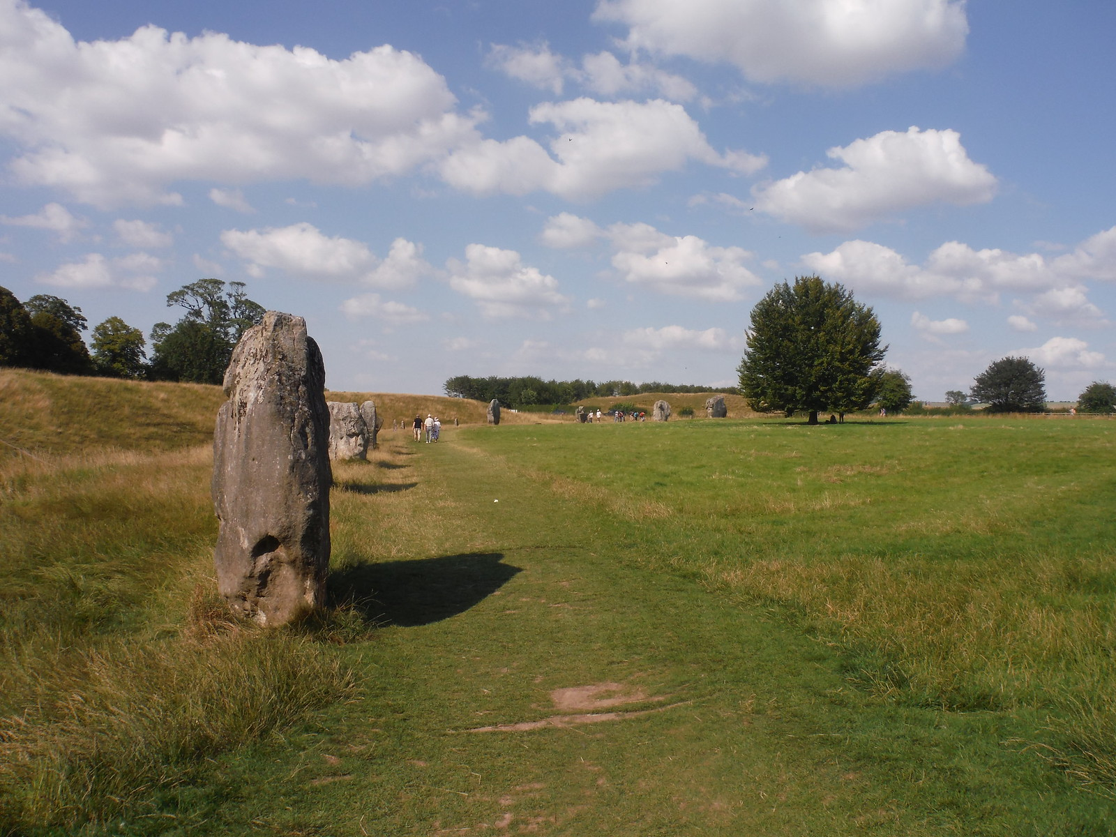 Avebury Standing Stones, NW quartile SWC Walk 255 Pewsey or Marlborough Circular via Avebury