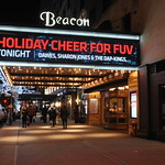 Fri, 04/12/2015 - 6:08pm - WFUV Public Radio's 11th holiday benefit concert, December 4 at The Beacon Theatre in New York City: Brandi Carlile & Friends with Dawes, Sharon Jones & The Dap-Kings, and Lucius. Photo by Neil Swanson/WFUV