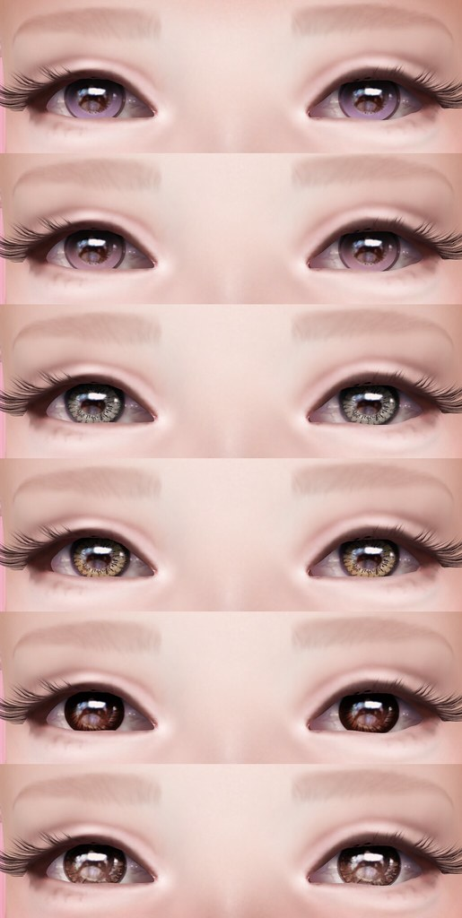 tsg  Circle Lens Sample Pack | Set of eyes inspired by my t