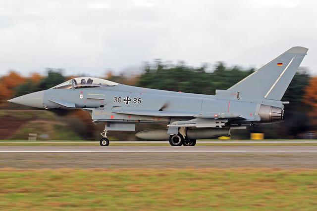 German Air Force Eurofighter EF-2000 Typhoon S 30+86 ETNT 16-11-16