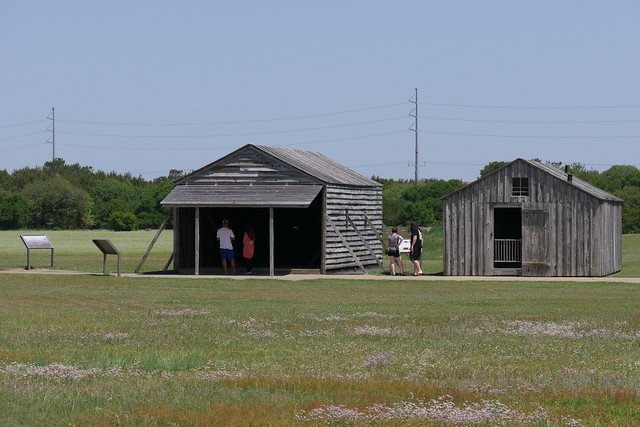 Replica of hangar used by Wright Brothers
