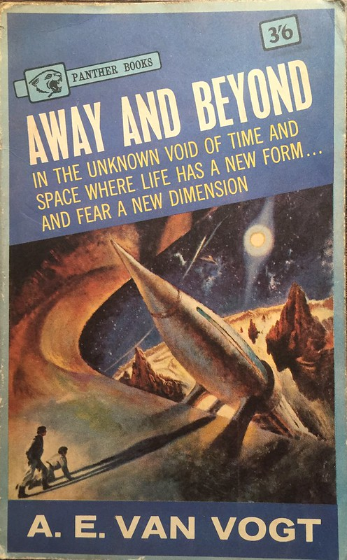 Vintage sci-fi book Away and Beyond by A. E. Vogt 1963