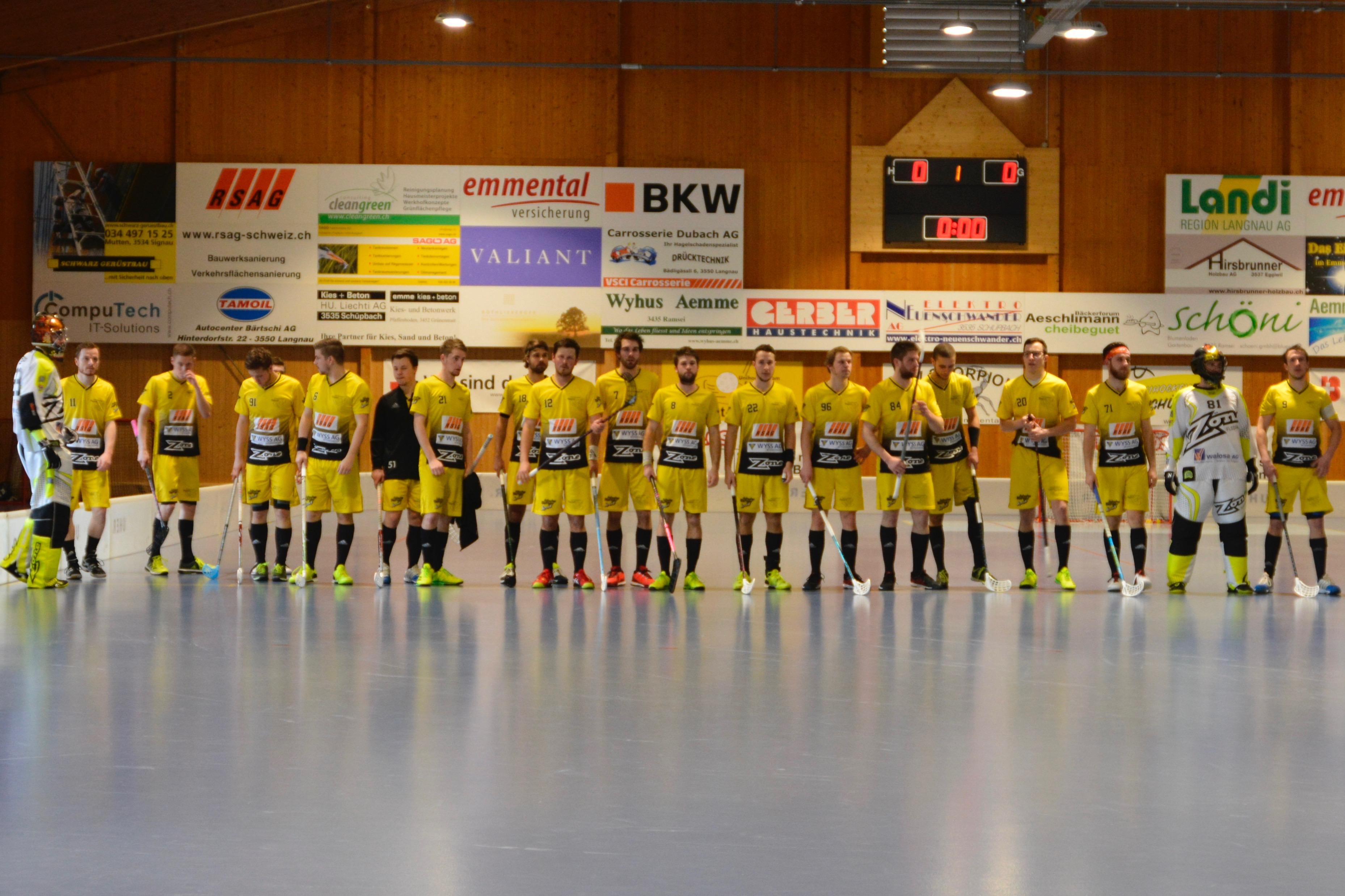 Herren I - Zürisee Unihockey Saison 2016/17 Playoffspiel 3