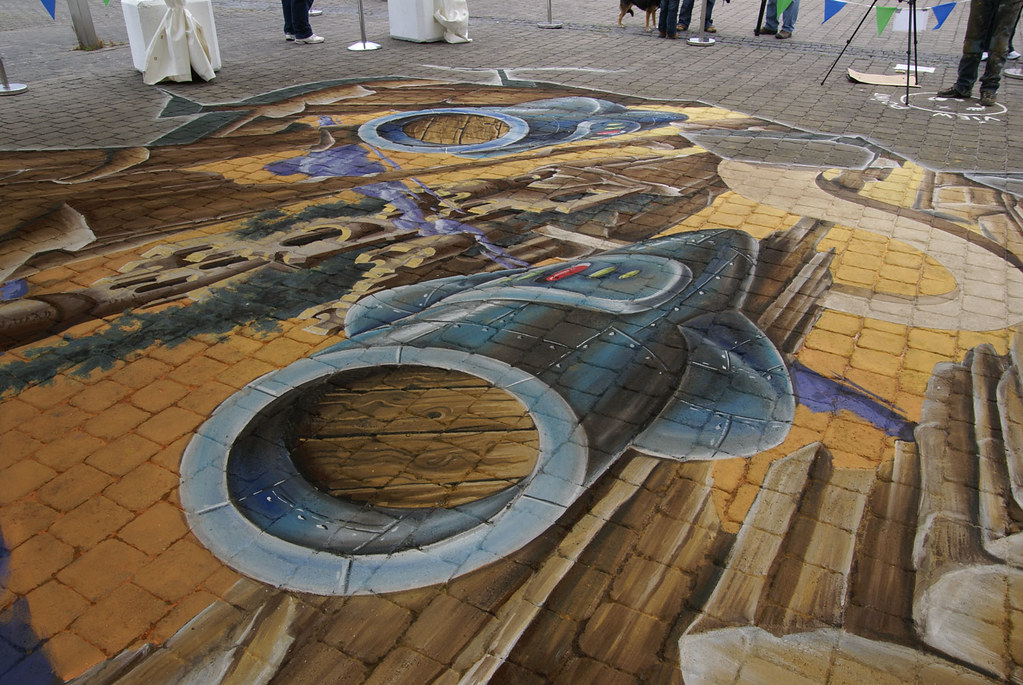 anamorphic-street-art | This first chalk festival in Ireland… | Flickr