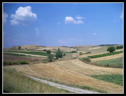 travel nature outdoors europe farmland macedonia fields balkans centraleurope formeryugoslavia